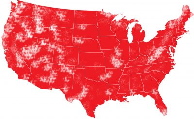 us coverage map